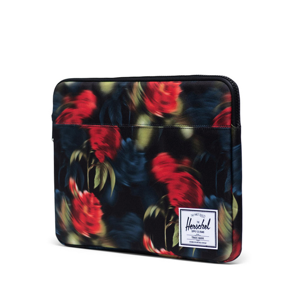 """Herschel Laptophülle Anchor 15"""" blurry roses"""