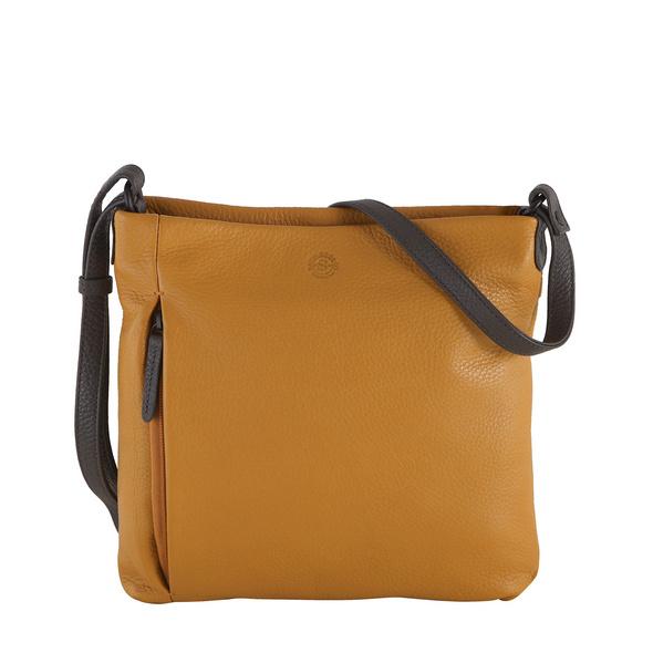 Sattlers & Co. Umhängetasche Rafiki The Gurada dark yellow/dark grey