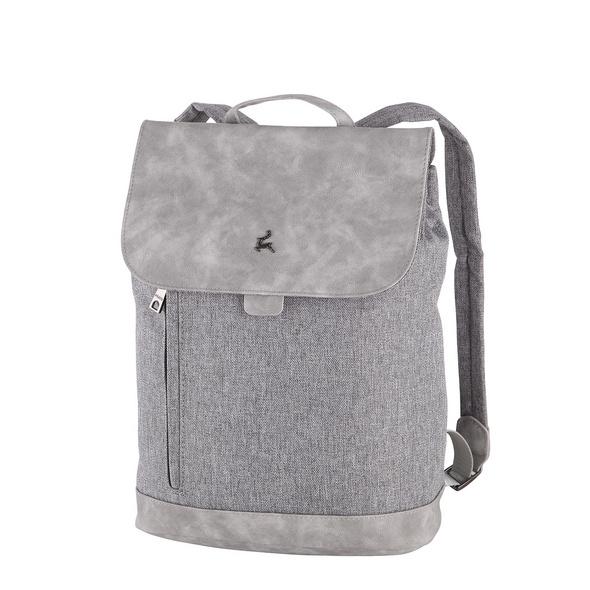 Prato Damenrucksack Hermine Flanel2tone light grey