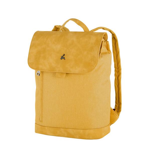Prato Damenrucksack Hermine Flanel2tone gelb