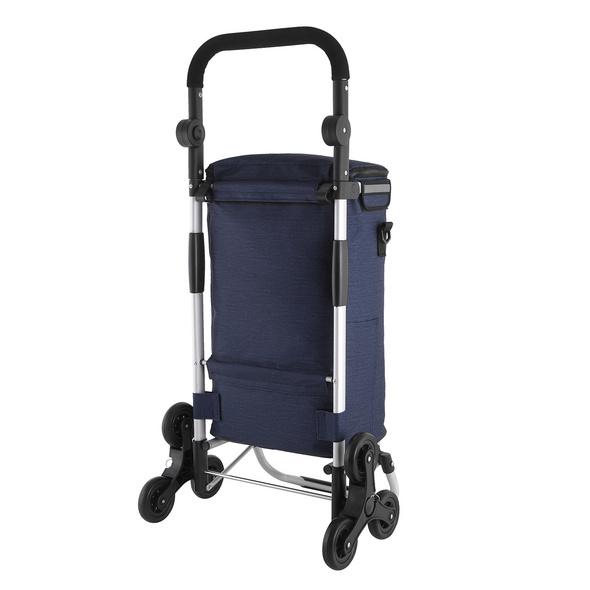 Rada Einkaufstrolley ER/10 Treppensteiger dark blue