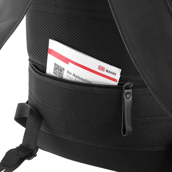 Sattlers & Co. Laptoprucksack The Rulers NL16V schwarz
