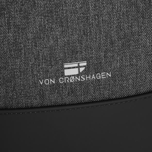 """Von Cronshagen Laptoprucksack Sjard 17"""" schwarz"""