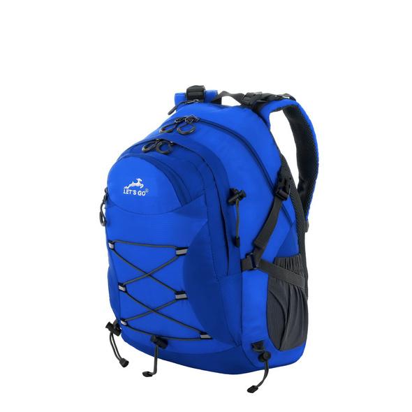 Let's Go Rucksack 32A001 17l blau/grau