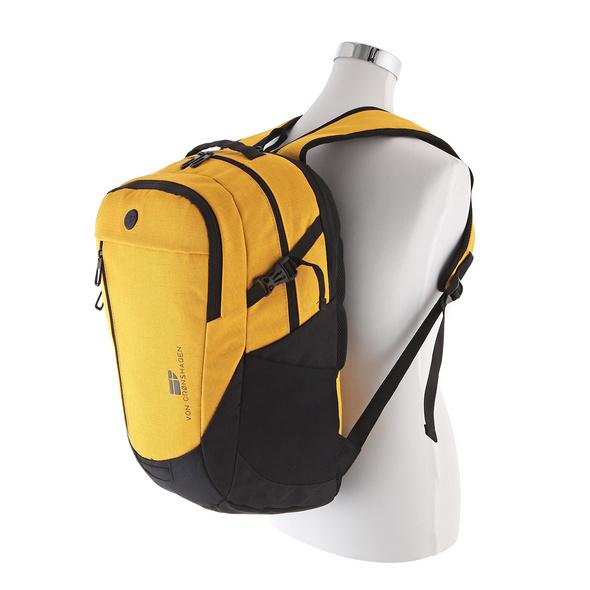 Von Cronshagen Rucksack Pelle gelb