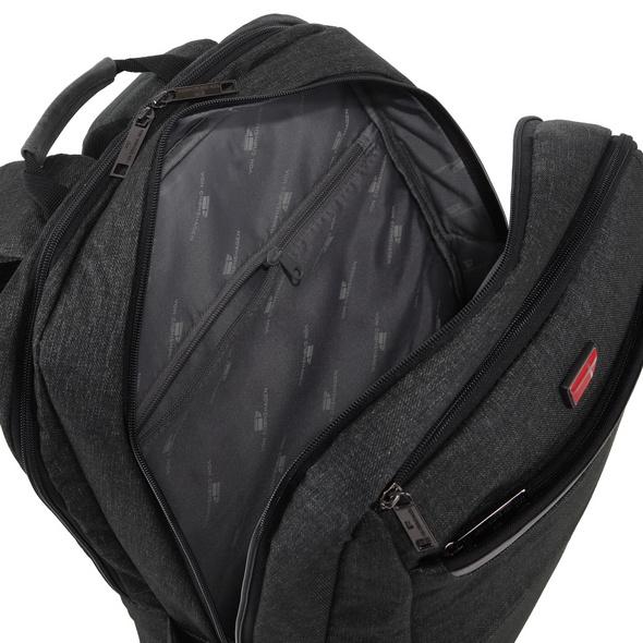 """Von Cronshagen Laptop Rucksack Christian 16"""" black"""