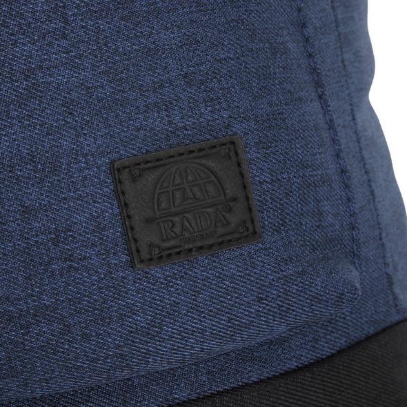 Rada Rucksack College RS/38 blue 2tone cognac
