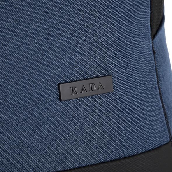 Rada Rucksack College Cube RS/39 blue 2 tone cognac