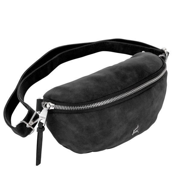 Prato Bauchtasche Olivia Vintage schwarz