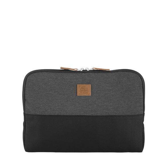 "Rada Laptophülle College Sleeve 13"" anthra 2tone cognac"