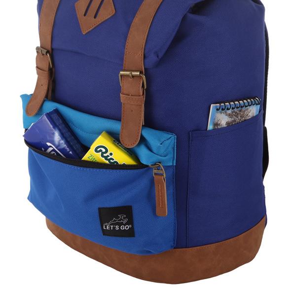 Let's Go Kinderrucksack KRS/3 15l blau