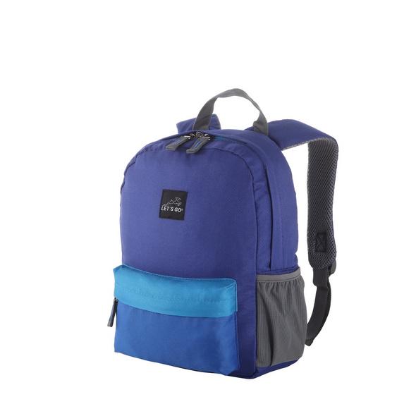 Let's Go Kinderrucksack KRS/4 12l blau