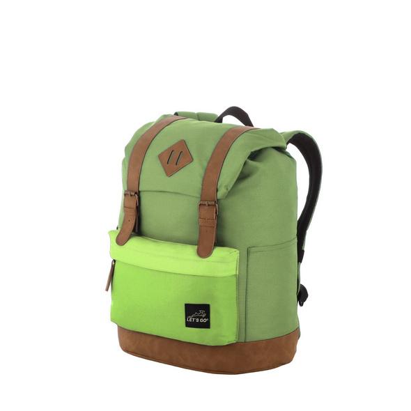 Let's Go Kinderrucksack KRS/3 15l grün