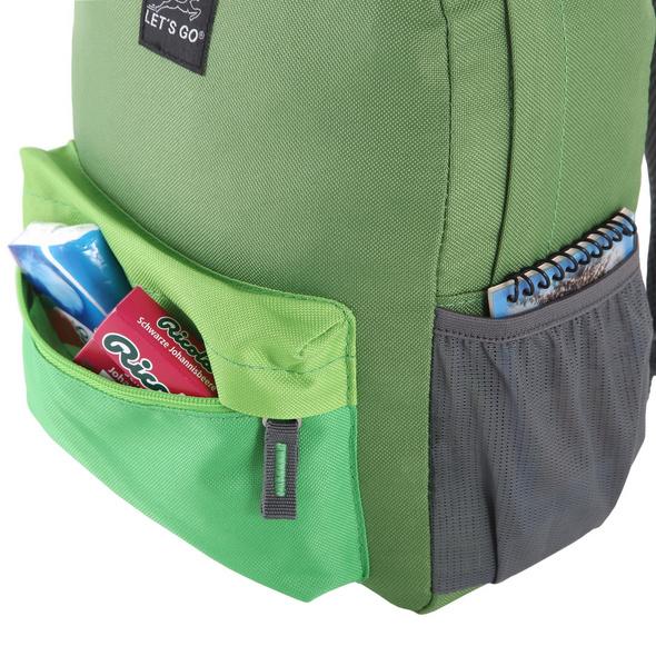 Let's Go Kinderrucksack KRS/4 12l grün