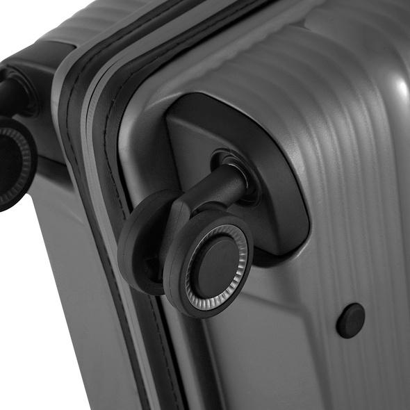 Von Cronshagen Reisetrolley Magnus S 55cm grey metallic