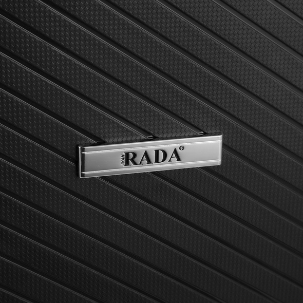Rada Reisetrolley PP/6 55cm schwarz