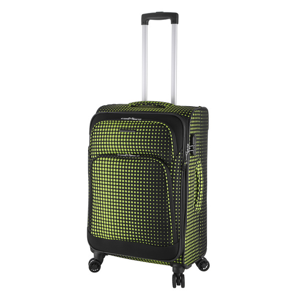 Rada Reisetrolley Rainbow T1/S 67cm lime green dots