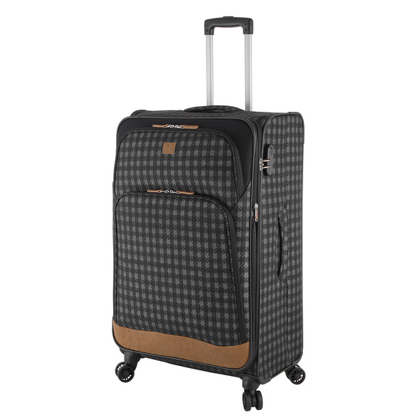 Rada Reisetrolley Rainbow T1/S 77cm check2tone cognac