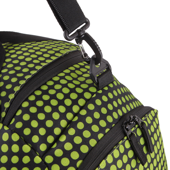 Rada Reisetasche Discover M 40l lime green dots
