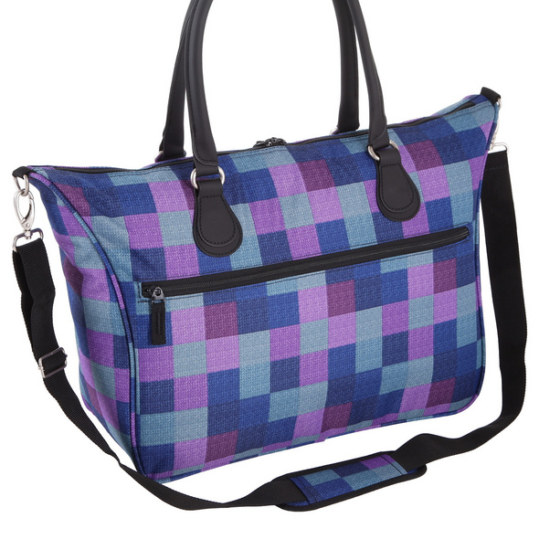 "Rada Laptop Tasche Rainbow RT/7 15,4"" purple blue caro"