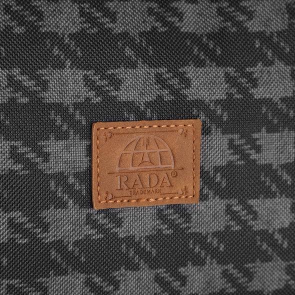 Rada Reisetasche Discover M 40l check 2tone cognac