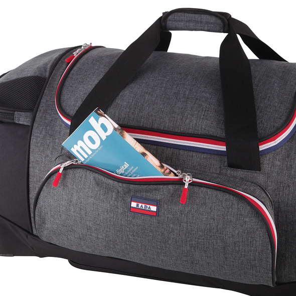 Rada Reisetasche mit Rollen RT/23 85l grey sports
