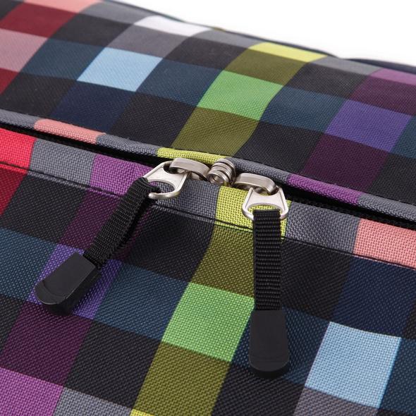 Rada Reisetasche mit Rollen RT/32/L 82l multicolor check