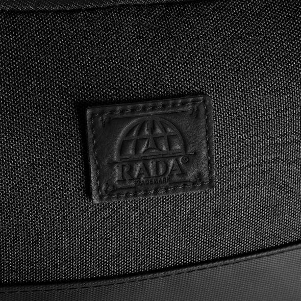 Rada Kulturbeutel Washbag Cubic KB8 schwarz