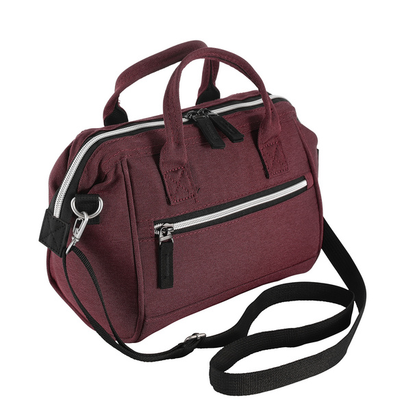 Rada Kulturbeutel Washbag To Carry KB10 bordeaux 2tone cognac