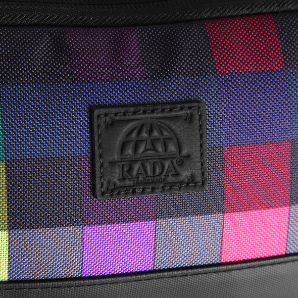 Rada Kulturbeutel Washbag Cubic KB8 multicolor check