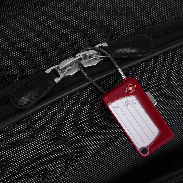 Rada TSA Zahlenschloss PL/188 rot