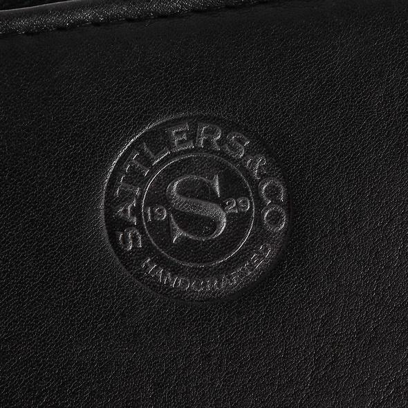 Sattlers & Co. Portmonee Damen B/6/R schwarz
