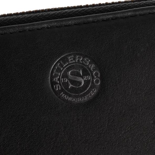 Sattlers & Co. Portmonee Damen B/7/R schwarz