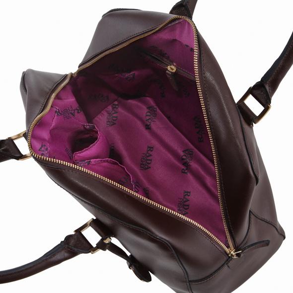 Rada Nature Kurzgriff Tasche 'Saint Tropez' braun