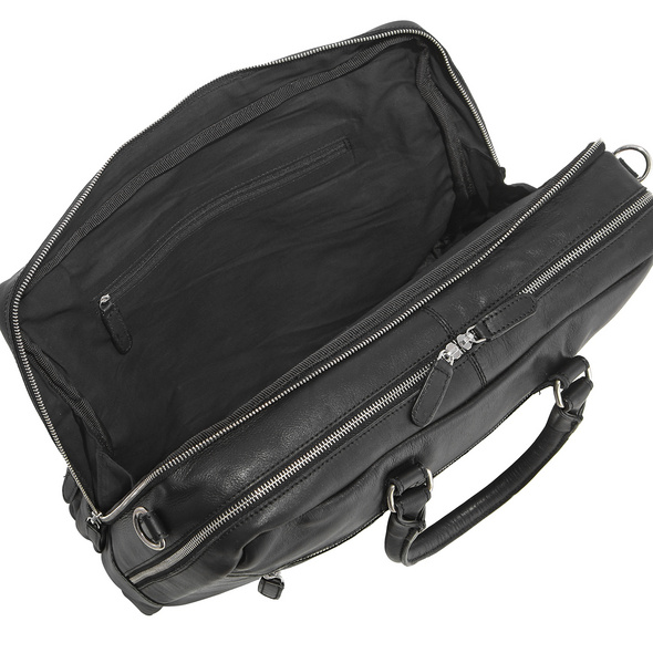 Sattlers & Co Aktentasche The American Occident Briefcase M black