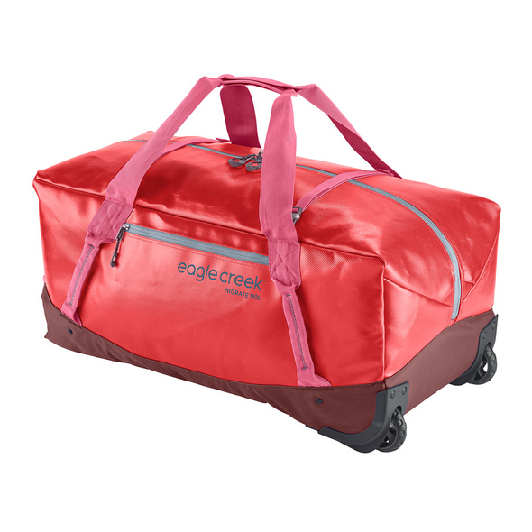 Eagle Creek Reisetasche Migrate Wheeled Duffel 110l coral sunset