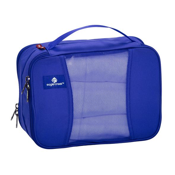 Eagle Creek Packhilfe Pack-It Clean Dirty Cube S blue sea