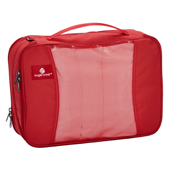 Eagle Creek Kleidersack Pack-It Clean Dirty Cube M red fire
