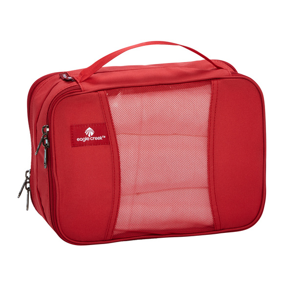 Eagle Creek Packhilfe Pack-It Clean Dirty Cube S red fire