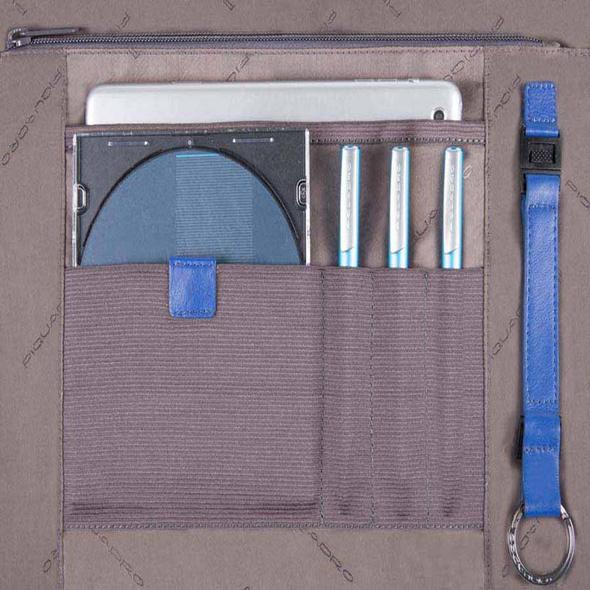 "Piquadro Laptoptasche CA3347 15,6"" dunkelgrau"