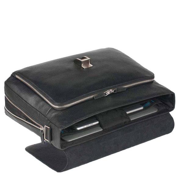 Piquadro Aktentasche Modus Expandable Computer Briefcase schwarz