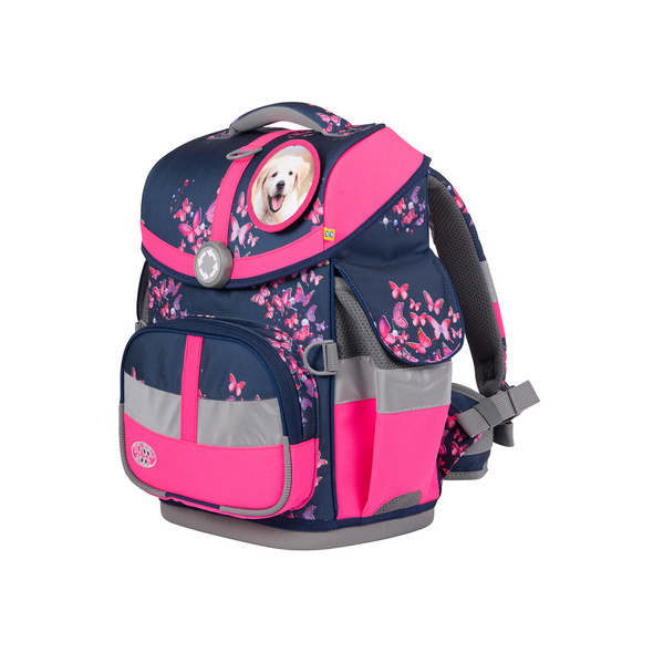 School-Mood Schulranzen-Set 7tlg. Timeless Eco Air 23l Mia Hund & Katze