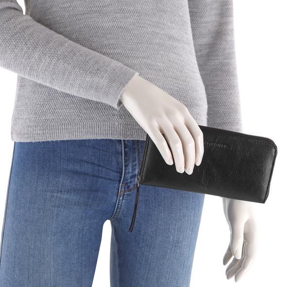 FREDsBRUDER Querbörse Damen Zip Wallet black