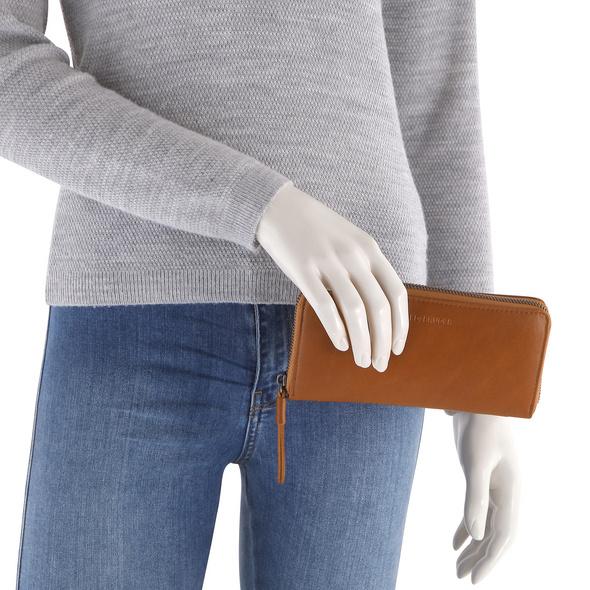FREDsBRUDER Querbörse Damen Zoom Zip Wallet caramel