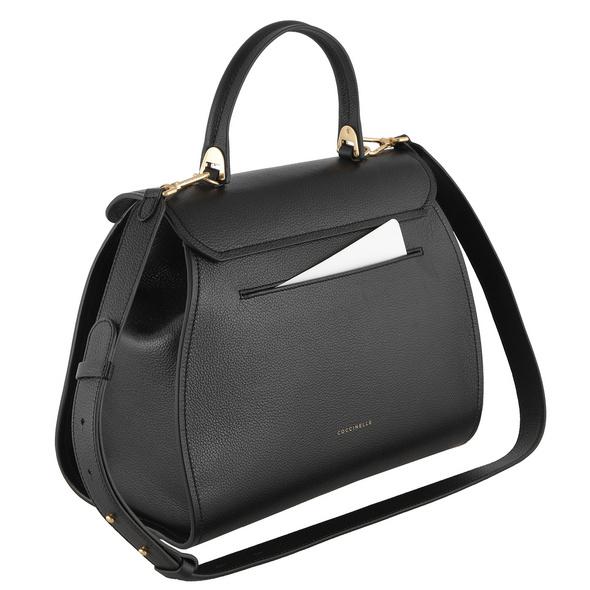 Coccinelle Kurzgriff Tasche Marvin FP0 noir