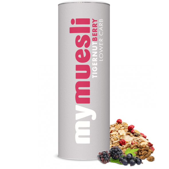 Tigernut Berry Lower Carb Müsli