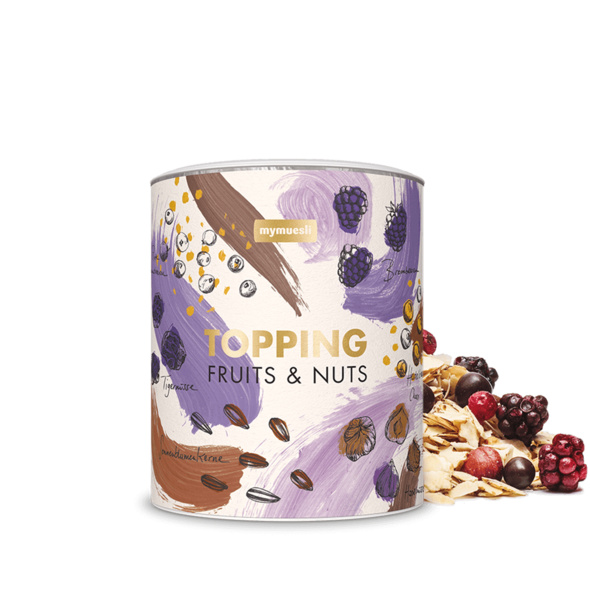 Topping Fruits & Nuts