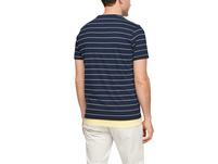 T-Shirt mit feinen Streifen - Jerseyshirt