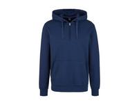 Sweatshirt mit Zip-Detail - Kapuzenpullover