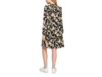 Viskosekleid mit Rüschen - Kleid